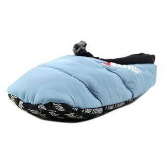 Baffin Cush Youth Round Toe Canvas Blue Slipper