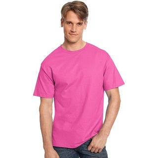 Hanes TAGLESS® T-Shirt - Size - 4XL - Color - Wow Pink