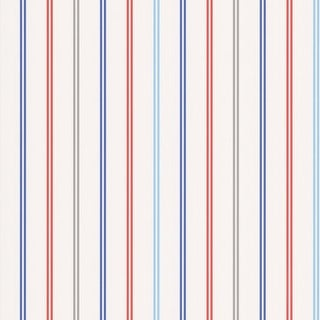 Brewster 443-90515 Candy Silver Stripes Wallpaper