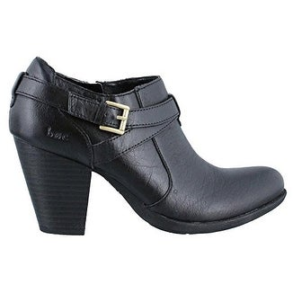 B.O.C Womens Moore Leather Round Toe Ankle Fashion Boots