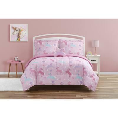 Unicorn Planet Soft Microfiber Comforter Bedding Set