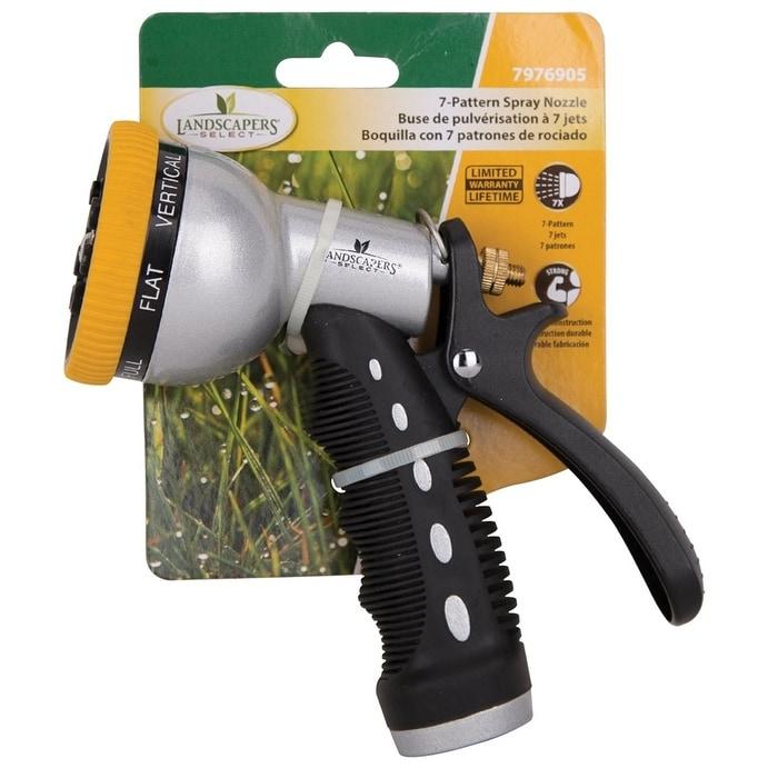 MINTCRAFT YM7674 Self Clean 7-Pattern Hose Nozzle