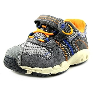 Stride Rite M2P Baby Knox EW Round Toe Leather Sneakers
