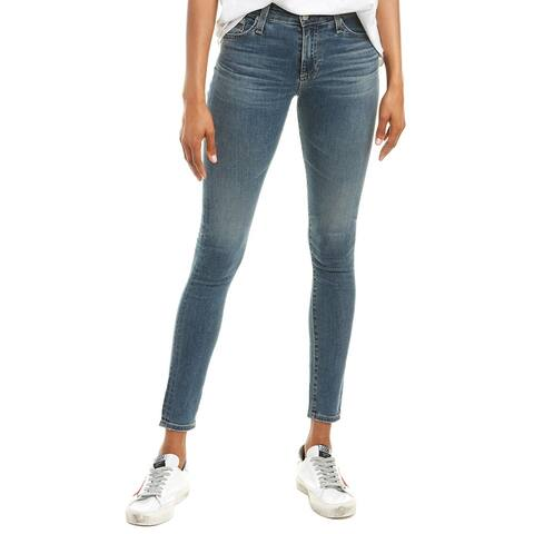 Ag Jeans The Farrah 12 Years Tenacious High-Rise Skinny Ankle Cut