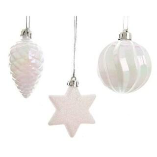 White Iridescent Ornament