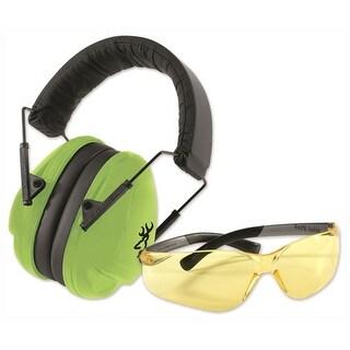 Browning 126371 bg range kit eye & hearing protection junior