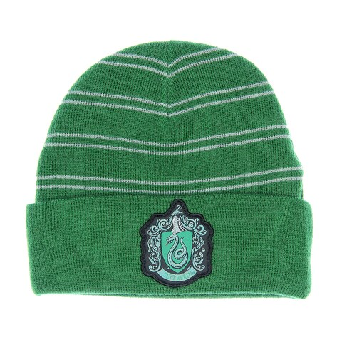Harry Potter Slytherin House Watchman Cuff Beanie