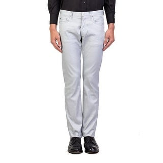 Dior Homme Men's Slim Fit Jeans Pants Silver - 33