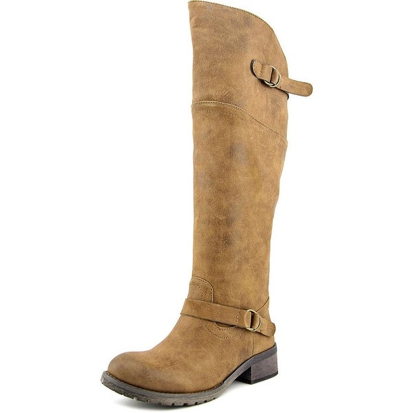 Famous Name Brand Carmelle Women Tan Boots