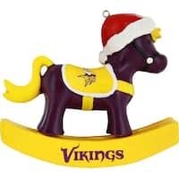 Minnesota Vikings Resin Rocking Horse Ornament