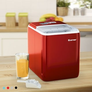 Costway Portable Countertop Ice Maker Machine 44Lbs/24H Self-Clean - See Details