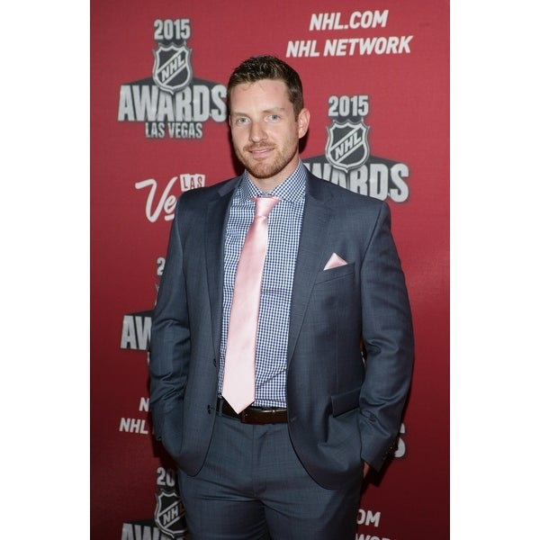 Shop Andrew Hammond At Arrivals For 2015 National Hockey League