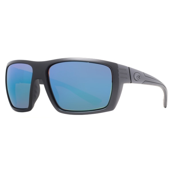 Costa Del Mar Hamlin HL01 OBMGLP Matte Black/Blue 580G Polarized Sunglasses - Matte Black - 61mm-13mm-114mm