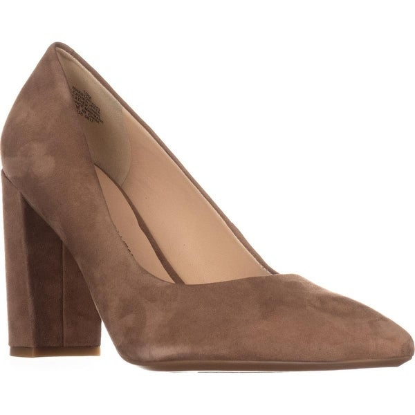 Nine West Astoria Pointed Toe Dress Pumps, Natural Suede