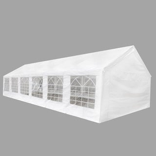 vidaXL White Party Tent 40' x 20'