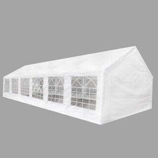 vidaXL White Party Tent 40' x 20'