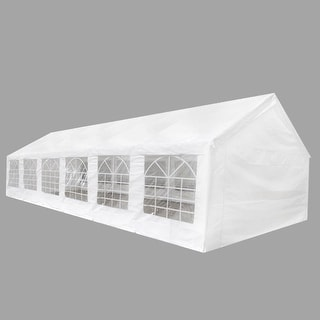 vidaXL White Party Tent 40u0027 x ... & Tents u0026 Outdoor Canopies For Less | Overstock.com