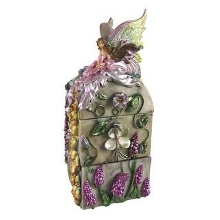 3 Drawer Dream Flower Fairy Trinket / Jewelry Box