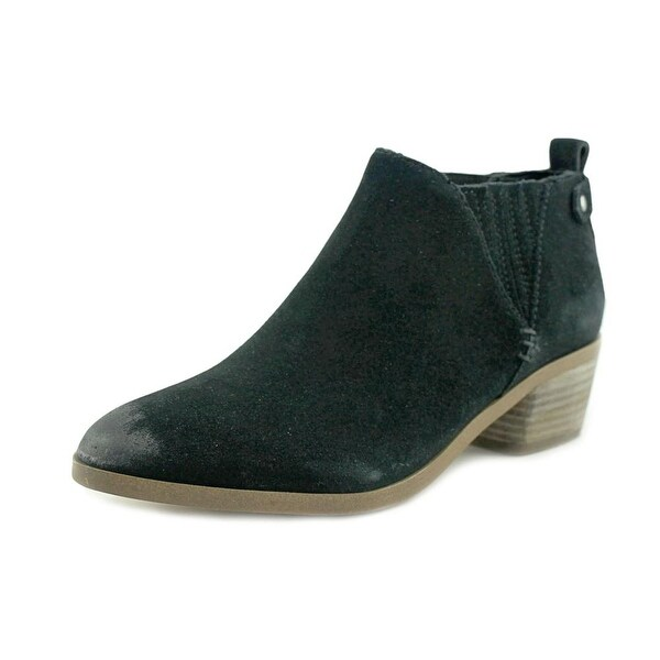 Marc Fisher Wilde Women Pointed Toe Suede Black Bootie