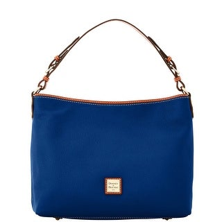 Dooney & Bourke Pebble Grain Large Courtney Sac (Introduced by Dooney & Bourke at $298 in Sep 2016) - Cobalt