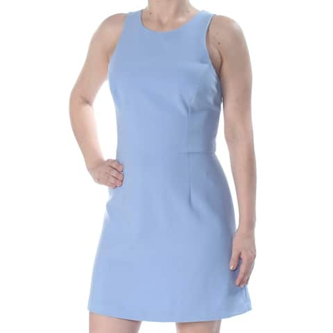 FRENCH CONNECTION Blue Sleeveless Above The Knee Dress 8