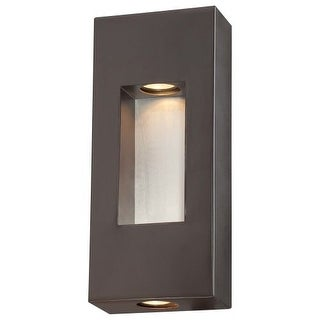 The Great Outdoors 72371-615B 2 Light ADA Compliant Outdoor Wall Sconce from the Geox Collection