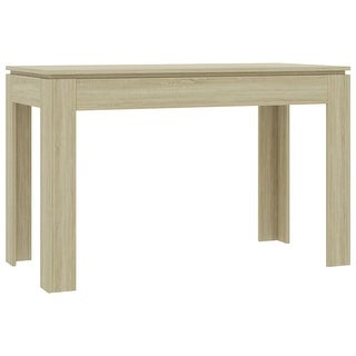 "vidaXL Dining Table Sonoma Oak 47.2""x23.6""x29.9"" Chipboard"