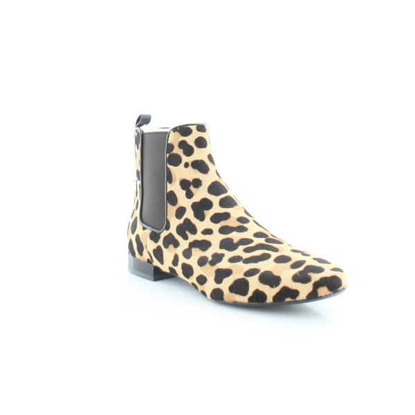 Tory Burch Orsay Bootie Women's Boots Leopard Print/Coconut