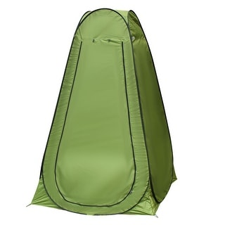 Outdoor Portable Pop-Up Camping Beach Shelter Dressing Changing Room Tent Green