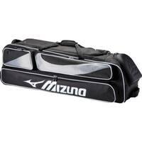 Mizuno MX Elite Wheeled Duffle Bag Baseball Softball Team Duffel 4 Bats 360266