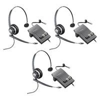 Plantronics Encore Pro HW710 with M22 (3-Pack) Monaural Noise-Cancelling Headset