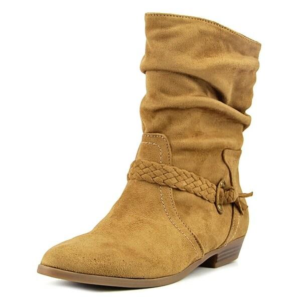 Indigo Rd. Jalena Women Round Toe Synthetic Brown Mid Calf Boot