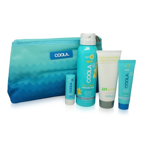 COOLA Signature Travel Kit Collection 4 pcs