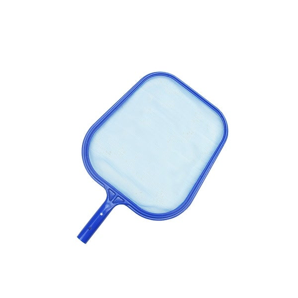"17.25"" Standard Blue Plastic Swimming Pool Leaf Skimmer Head"