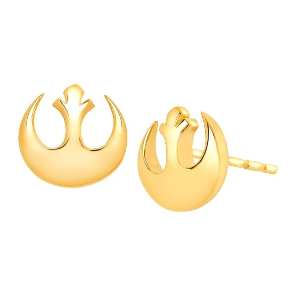Star Wars Rebel Alliance Stud Earrings in 10K Gold - YELLOW