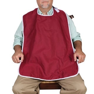 Oversized Adult Bib (Option: Red)