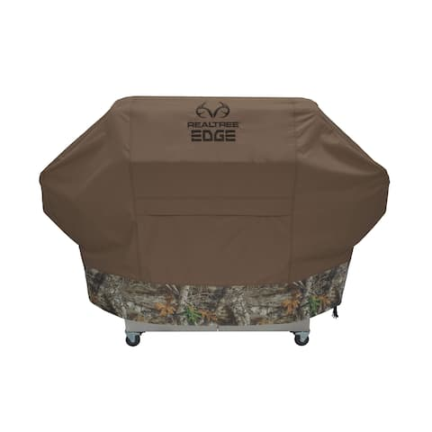 Realtree 100532015 camo realtree edge grill cover medium camo 52 x 22 x 42