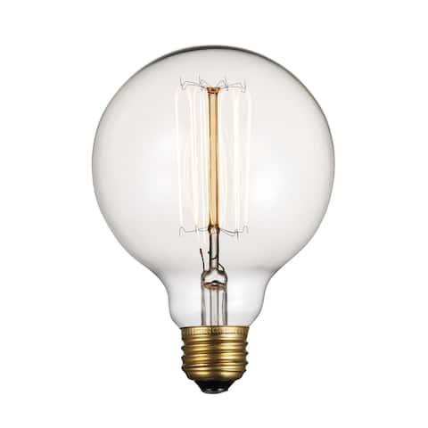 Trans Globe Lighting OC-R60 Single 60 Watt Clear Globe Vintage Edison