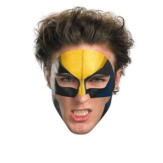 Wolverine Face Tattoo Costume