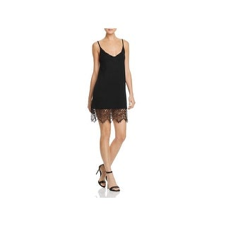 French Connection Womens Casual Dress Cami Dress Lace Trim (2 options available)