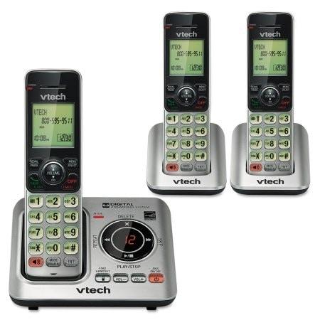 Vtech Communications Inc. - Vtech 3 Handset Cordless W/ Answer
