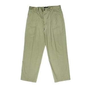 Dockers Mens D4 Twill Relaxed Fit Khaki Pants