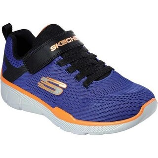 Skechers Boys' Relaxed Fit Equalizer 3.0 Final Match Sneaker Royal/Black