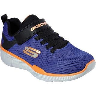 53310236c46fbc Skechers Boys  Relaxed Fit Equalizer 3.0 Final Match Sneaker Royal Black