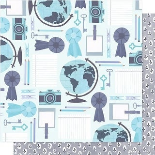 Far From Home Hazelwood Double-Sided Cardstock, 12 x 12 in. -
