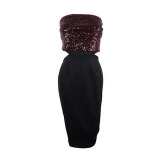 RACHEL Rachel Roy Women's Strapless Sequined Dress - doc marten (2 options available)