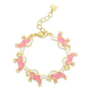 Lily Nily Girl's Unicorn Link Bracelet