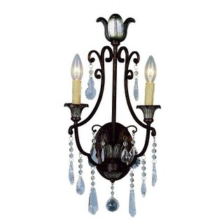 trans globe lighting crystal two light up lighting wall sconce from the crystal flair collection