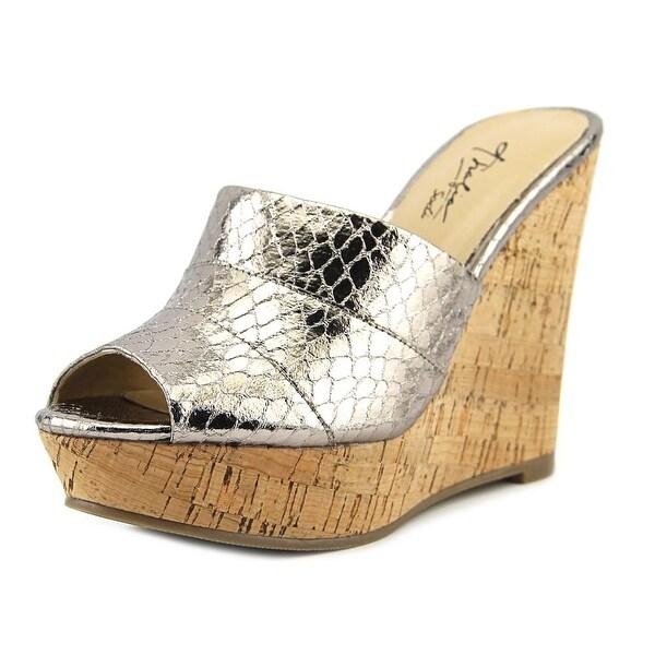 Thalia Sodi Jadey Women Pewter Sandals