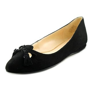 Nine West Simily Women  Pointed Toe Suede Black Flats